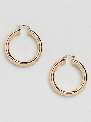Aldo örhängen Gold Chunky Hoop Earrings - Bright gold