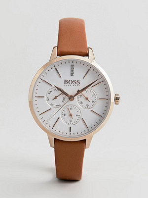 Klockor - BOSS 1502420 Symphony Chronograph Leather Watch