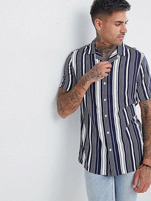 ASOS DESIGN regular fit stripe shirt
