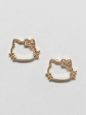 ASOS örhängen Hello Kitty x  DESIGN cut out stud earring