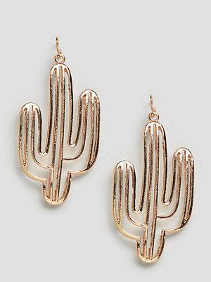 Reclaimed Vintage örhängen inspired cut out cactus earrings