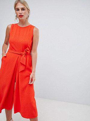 Oasis Culotte-jumpsuit med knut fram