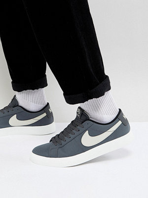 Nike Sb Blazer Vapor Trainers In Grey 902663-003