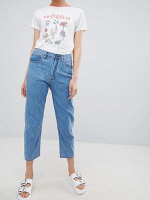 Ryder Vintage jeans i mom-jeans modell Ljus tvätt