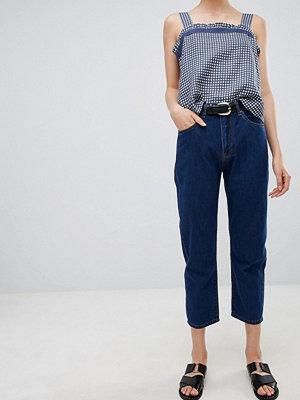 Ryder Vintage jeans i mom-jeans modell Mellanblå tvätt