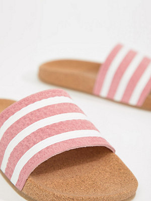 Adidas Originals Cork Adilette Slider Sandals