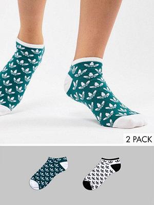 Adidas Originals 2-pack strumpor med logga