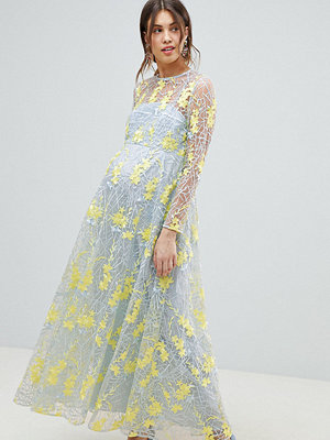 ASOS Edition Maternity embroidered maxi dress