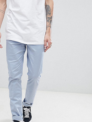 ASOS DESIGN Tall slim chinos in dusky blue - Ashley blue