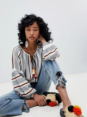 Free People dylan high rise boot cut jean