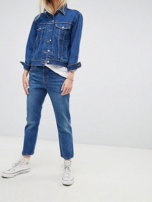 Levi's 501 Crop Jean in Darkwash - Rebel