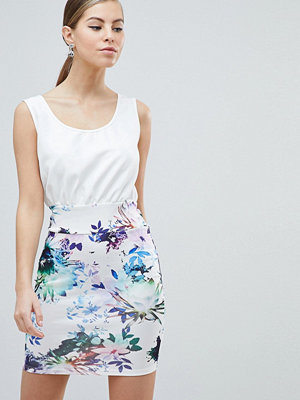 Ax Paris 2-in-1 Dress With Floral Skirt