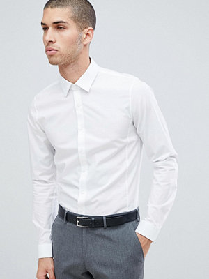 Calvin Klein Extra Slim Stretch Shirt White