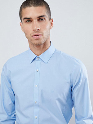 Calvin Klein Extra Slim Stretch Shirt Lt Blue - Light blue