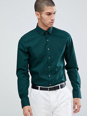 Calvin Klein Slim Fit Stretch Shirt Hunter - Hunter