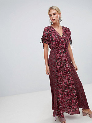 French Connection Maxi Tea Dress in Floral Print - Mimosa multi