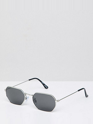 Monki hexagon sunglasses
