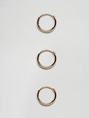 Weekday örhängen Hoop Earrings Set