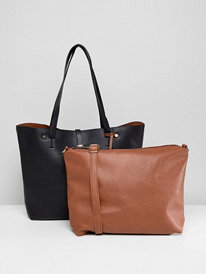 Oasis shopper bag with removable pouch - Multi