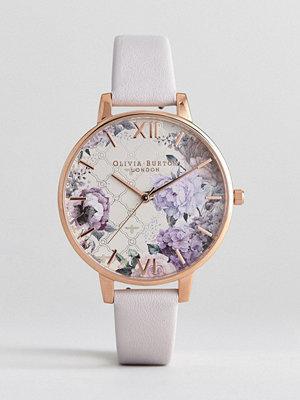 Klockor - Olivia Burton OB16EG97 Glasshouse Leather Watch In Blush