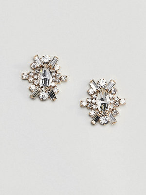 True Decadence örhängen Oval Embellished Stud Earrings