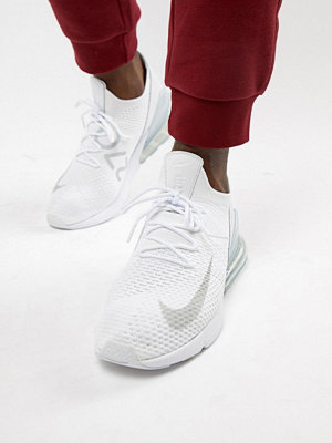 Sneakers & streetskor - Nike Air Max 270 Flyknit Trainers In White AO1023-102
