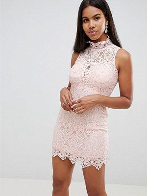 Ra-Re London scallop lace mini dress