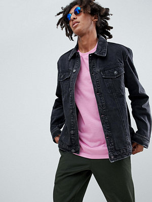 Jeansjackor - Bershka Denim Jacket