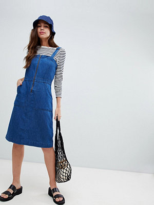 Levi's Max apron denim dress - Medium authentic