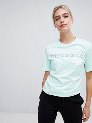 New Balance Mintgrön t-shirt Mint