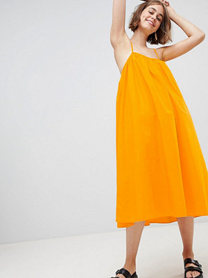Monki Trapeze Midi Cami Dress