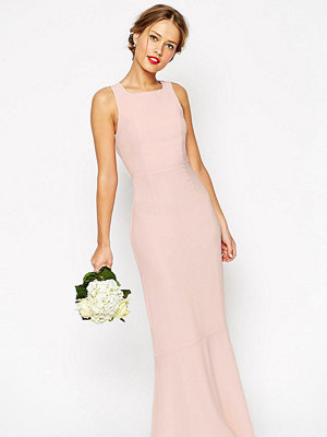 Asos Tall WEDDING Maxi Dress With Fishtail - Nude