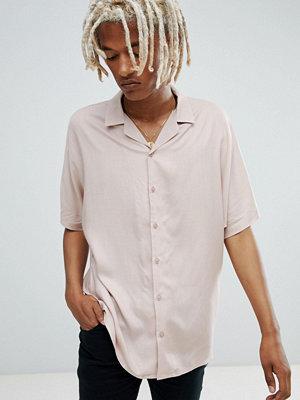 ASOS DESIGN oversized viscose batwing sleeve shirt