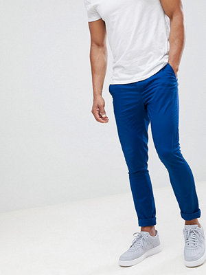 ASOS DESIGN super skinny chinos in royal blue - True blue