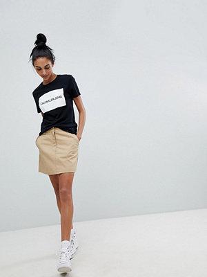Calvin Klein Jeans A Line Skirt - Travertine