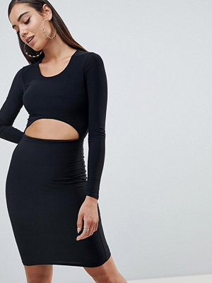 Missguided scoop neck cut out dress