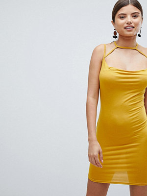 Missguided cowl neck mini dress