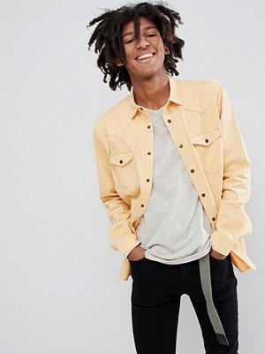 ASOS DESIGN oversized washed vintage look shirt