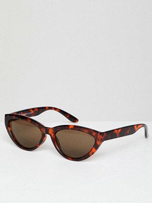 Weekday cat eye sunglasses in turtle brown - Turtle brown