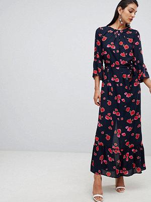 Selected Femme Printed Maxi Dress - Dark sapphire aop