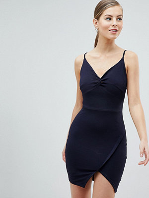 Ax Paris Knot Front Mini Dress
