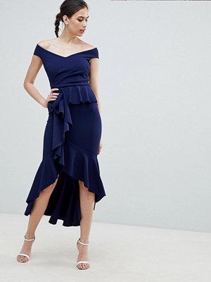 City Goddess Waterfall Pleated Maxi Dress