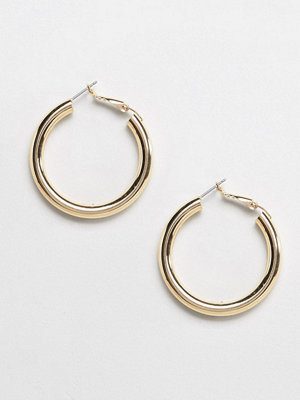 Liars & Lovers örhängen gold tube hoop earrings