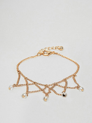 ASOS armband DESIGN chain bracelet with draping chain design