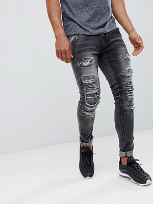 Jeans - Soul Star Heavy Rip and Repair Jeans