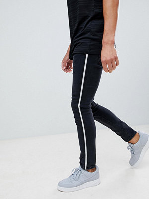 Jeans - River Island skinny jeans with side stripe