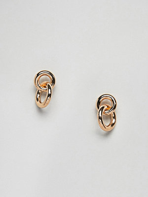 Weekday örhängen Mini Link Hoop Earrings