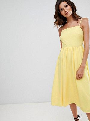 Warehouse square neck sun dress