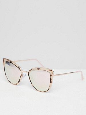 River Island tortoise shell cat eye sunglasses