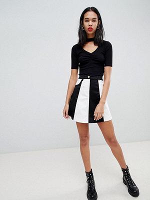 Love Moschino Monochrome A-linjeformad kjol 4001
